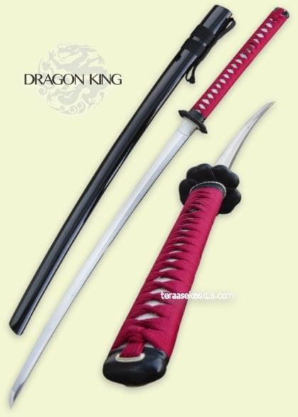 Dragon King Spring Flower Katana Asiantunteva ase- ja veitsiliike